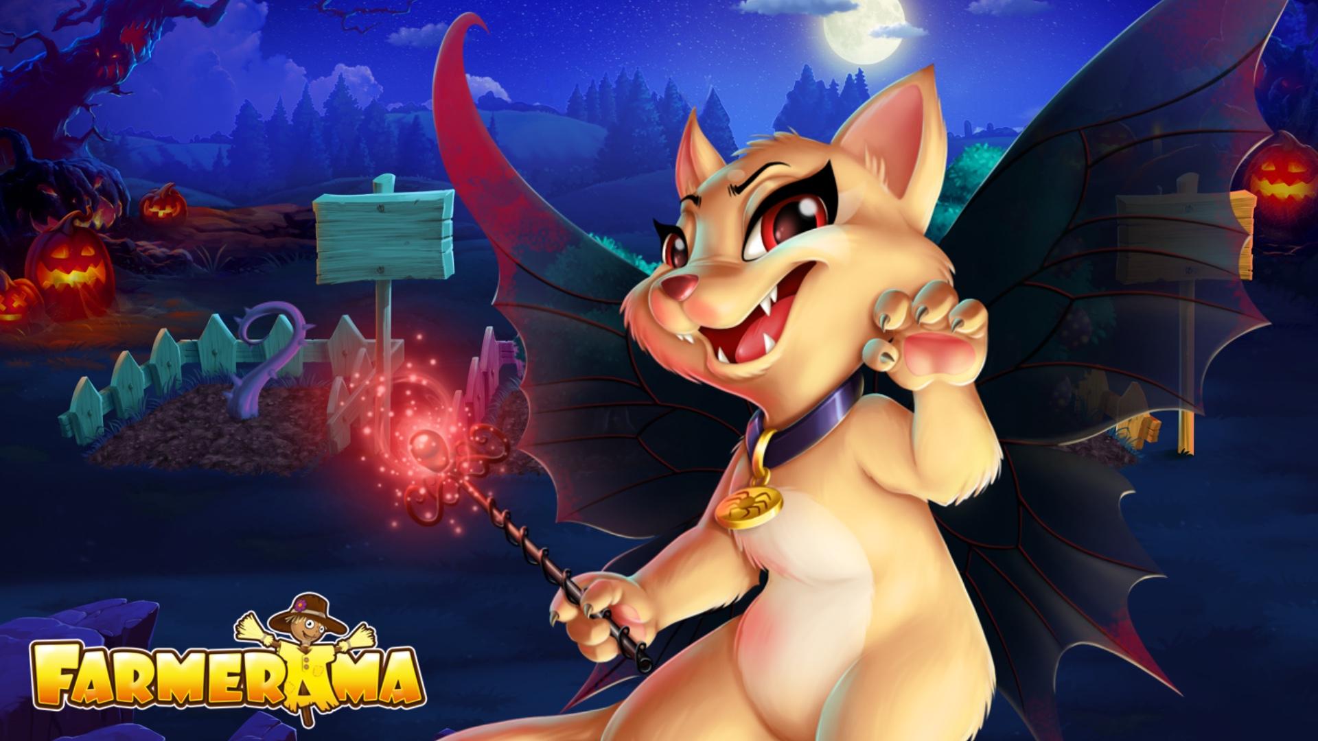 Wallpaper - Animal Training - Cat Fairy.JPG