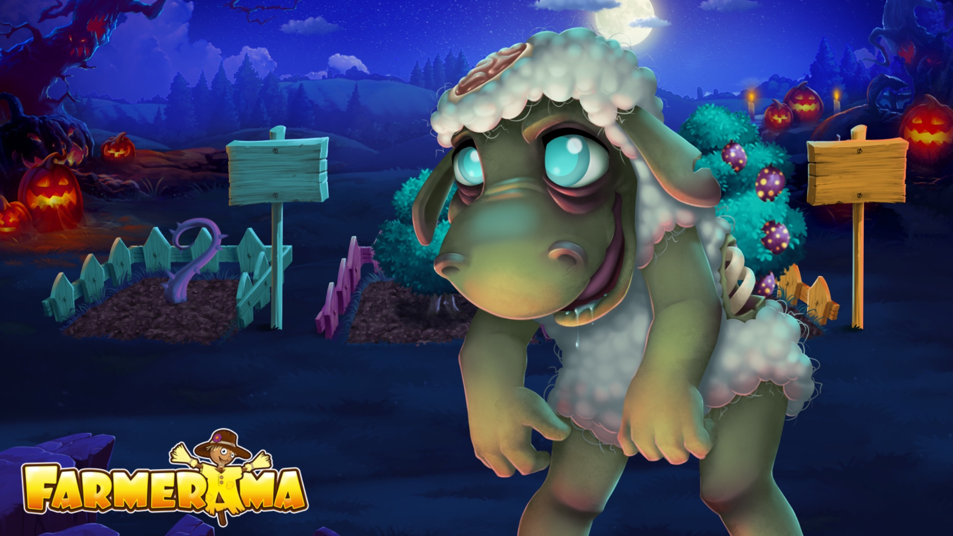 Wallpaper - Animal Training - Zombie Sheep.JPG